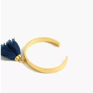 Madewell Tassel Cuff Bracelet